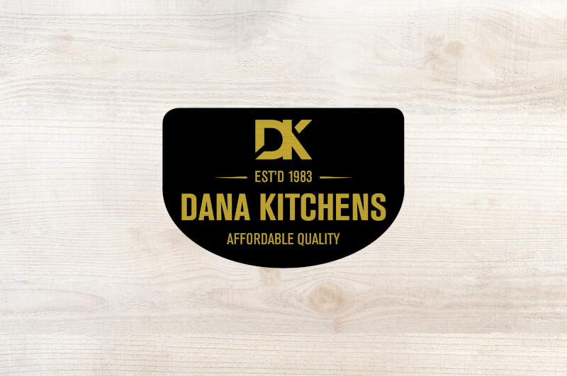 Dana Kitchens Logo On Wood